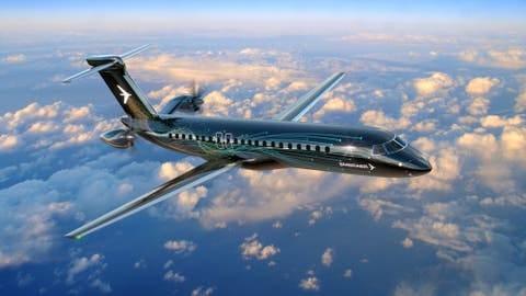 Embraer kembangkan pesawat regional turboprop bermesin belakang