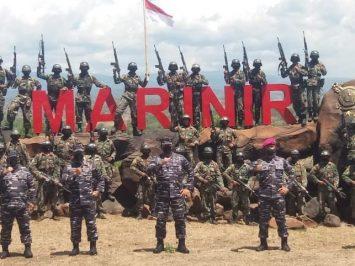 KSAL tinjau 523 Siswa Pendidikan Komando Korps Marinir