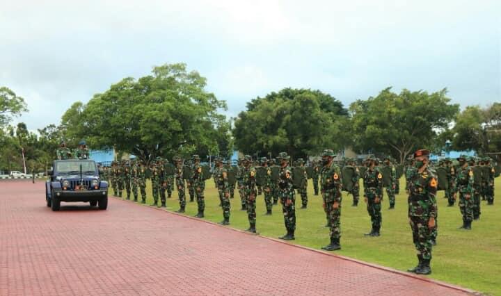 Karbol AAU diberangkatkan ke Bandung untuk Latihan Para Dasar