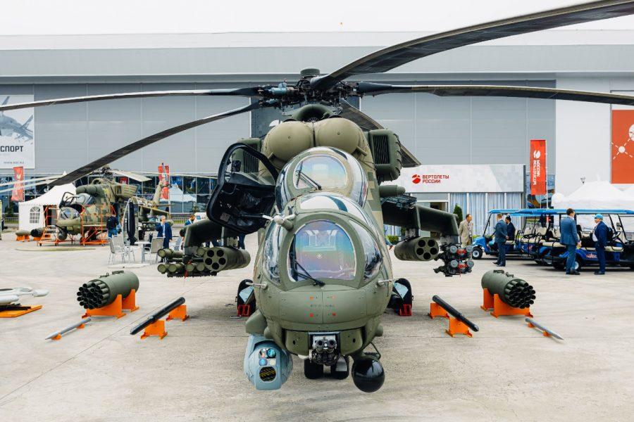 Mi-35 at ARMY-2021