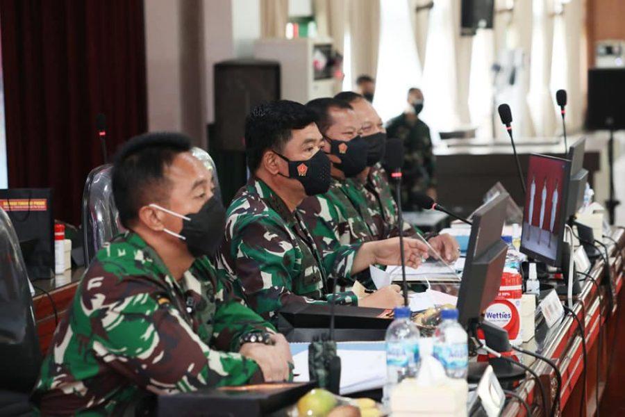 Pantukhir Akademi TNI 2021