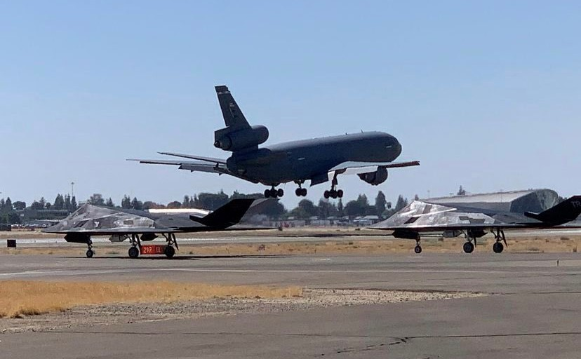 F-117s-at-Fresno-Airport