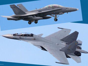 Hornet dan Flanker TUDM