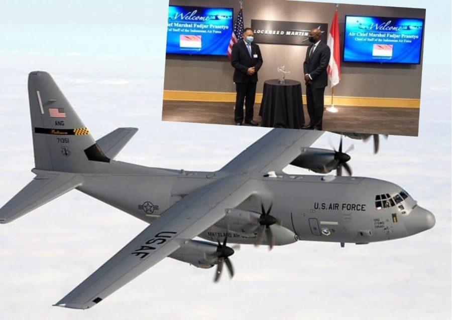 KSAU tinjau C-130J di Lockheed Martin