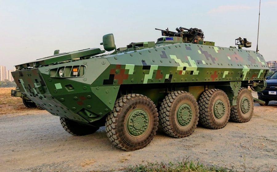 Panser 8X8 buatan Thailand