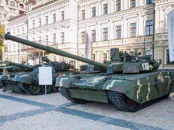 Ukraina kirim tank MBT BM Oplot pertama pesanan Amerika Serikat