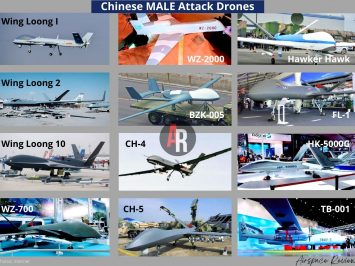 Chinese MALE Attack Drones
