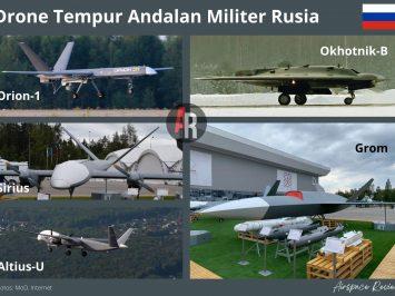 Drone Tempur Andalan Rusia