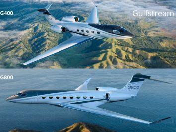 Gulfstream G400 and G800