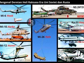 Mengenal heli raksasa uni soviet dan Rusia