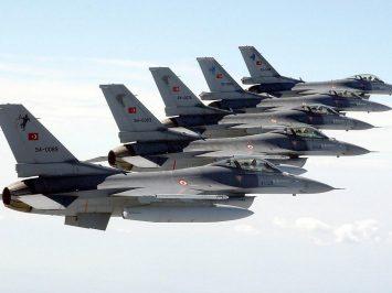 Turkish F-16s